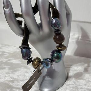 Chico's Chameleon Beaded Bracelet B3